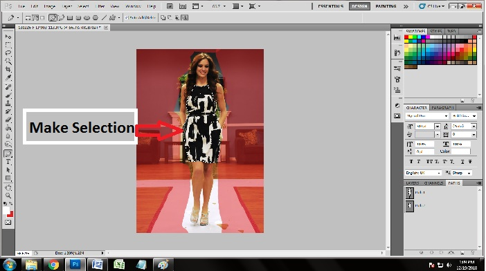Technique to Make Multiple Clipping Path in Photoshop CS5