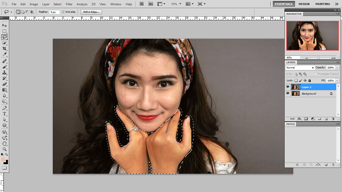 How to Match Skin in Photoshop for Beginners