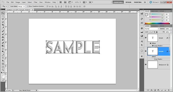 Move the duplicate layer photoshop