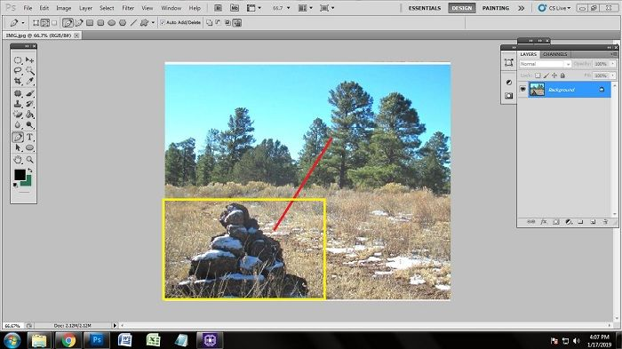 Easy Way of Removing the Object in Photoshop CS5