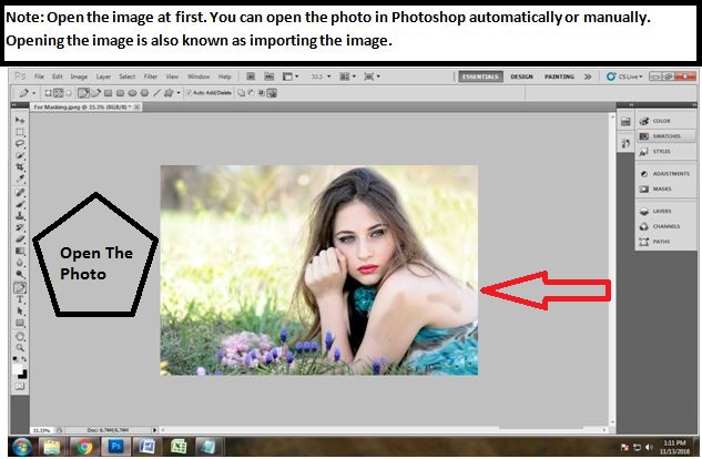 How to mask hair in Photoshop cs5