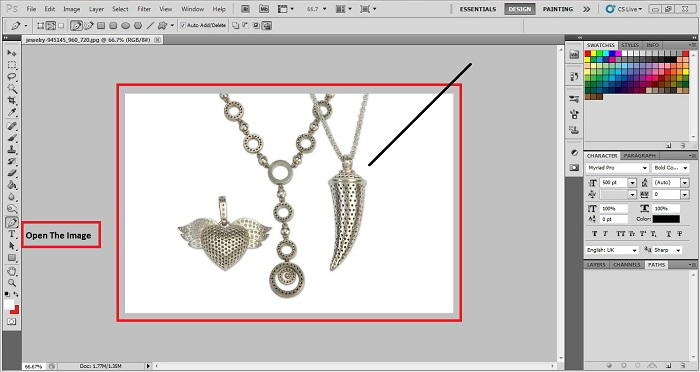 How to Edit Jewelry Background using Photoshop
