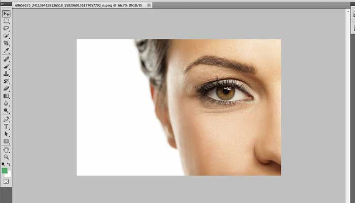 How to change eye color using Photoshop CS5