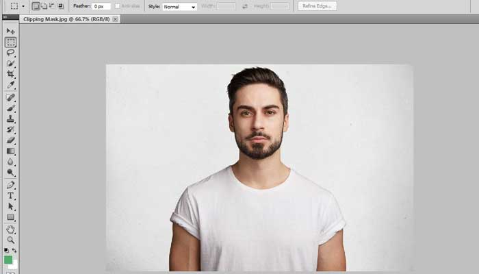 Technique of doing Photoshop Clipping Mask