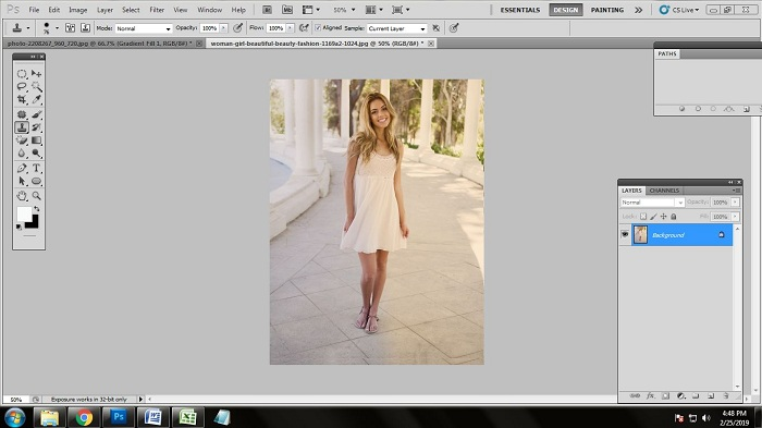 How to edit fashion photos in Photoshop