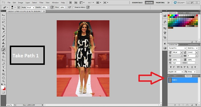 Drawing Multiple Clipping Path in Photoshop