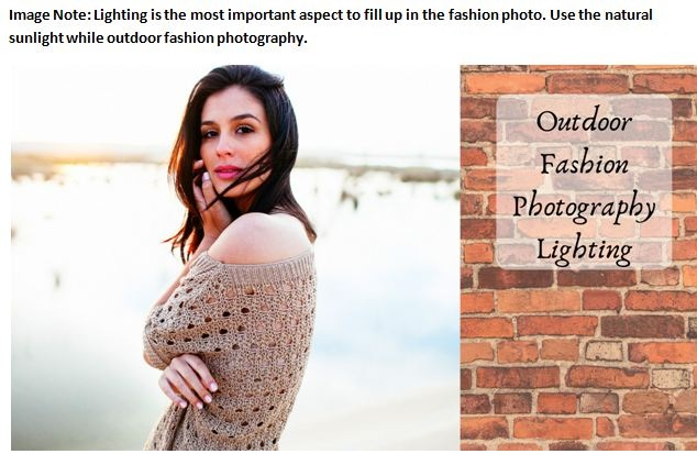 Outdoor Fashion Photography Lighting Tips and Techniques