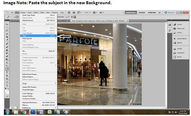 How to Remove Background using Photoshop