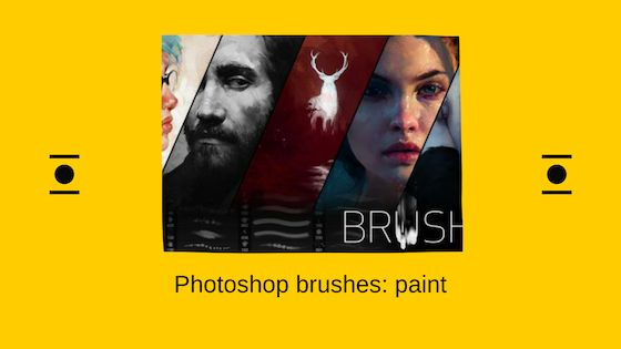 Photoshop brushes paint
