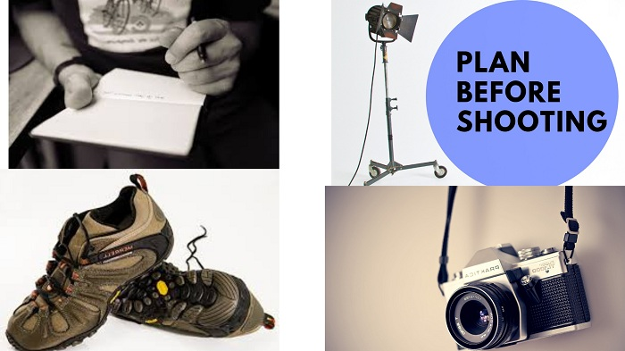 Photography tips for taking shoe photographs