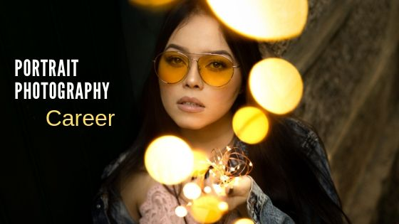 Portrait photography career