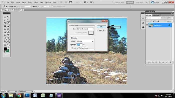 Easy Steps of Removing Unwanted Objects Using Photoshop