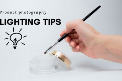 Product photography lighting tips
