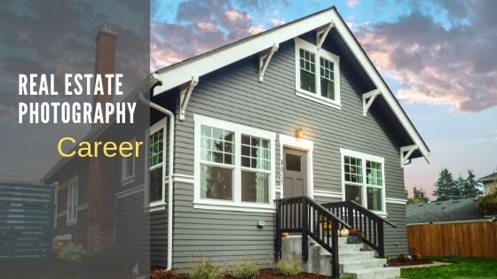 Real estate photographer career