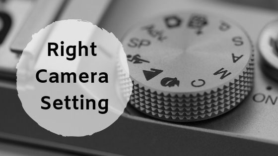 Camera settings for macro photography