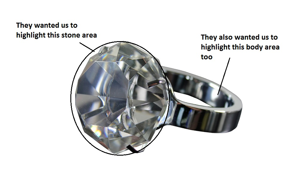 Retouching Jewelry in Photosop