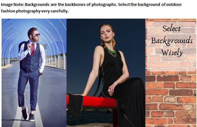 Outdoor Fashion Photography Background Tips