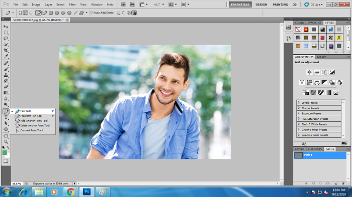 Step by Step Process of Clipping Path
