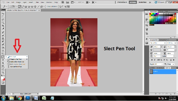 How to apply multiple clipping Path in Photoshop