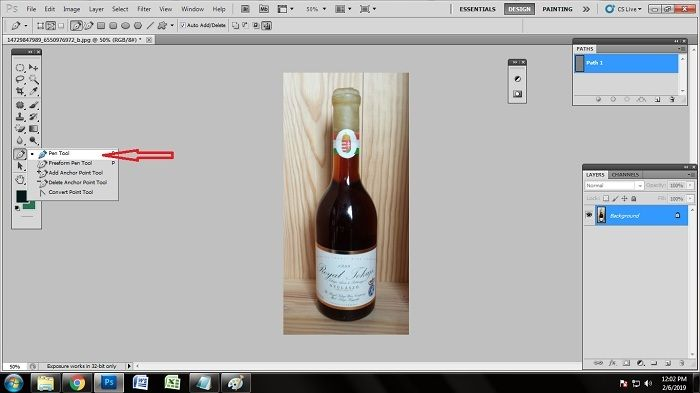 How to remove background of ecommerce product using Photoshop