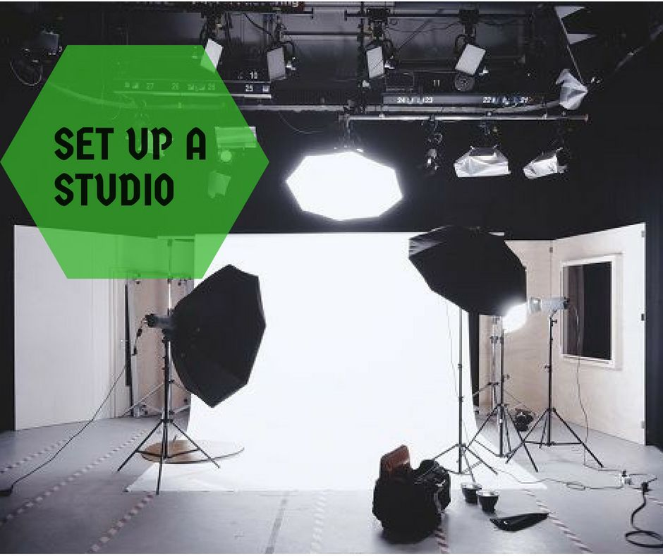Set up a studio Step 7-How to make the photo look professional