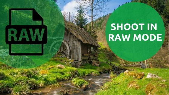 Raw images tips