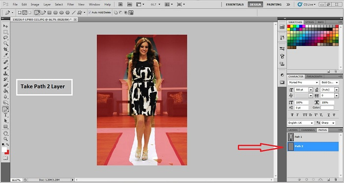 Photoshop Multi Clipping Path in 2018