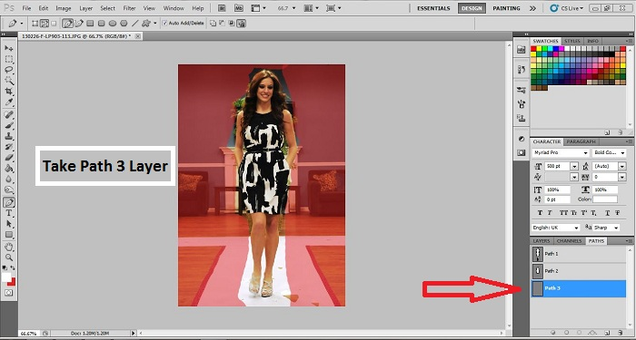 How to add Multiple Clipping Path