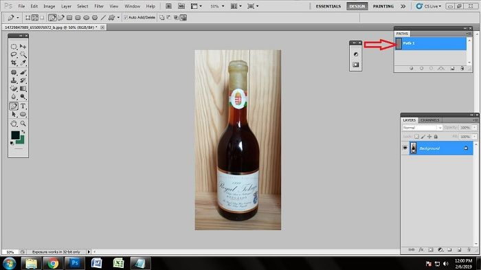 Remove ecommerce Photo Background using Photoshop