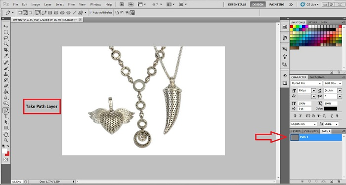 Edit Jewelry Photo in Photoshop
