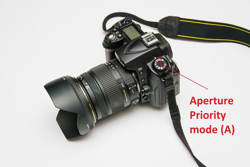 The Aperture Priority (A) mode