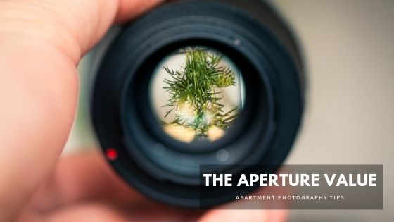 Aperture for interior photography