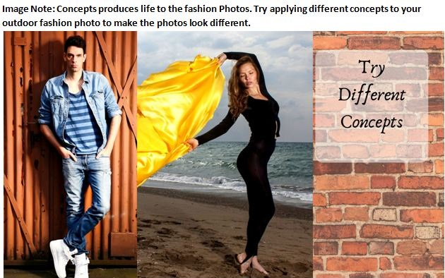 Outdoor Fashion Photography Concept Ideas