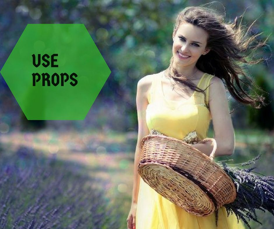 Use Props Step 5-How to make the photo look professional