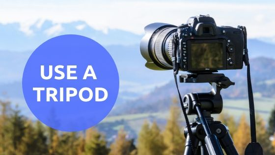 Tripod for travel photography