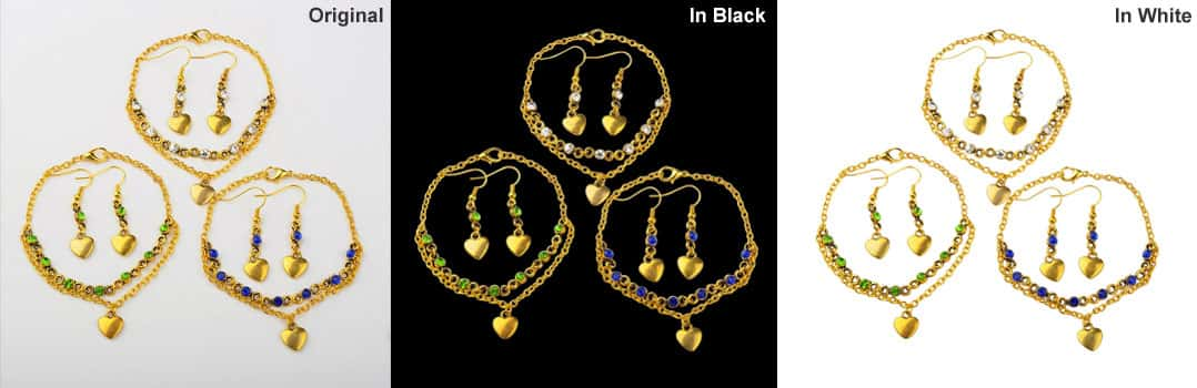 Complex Jewellery Clipping Path