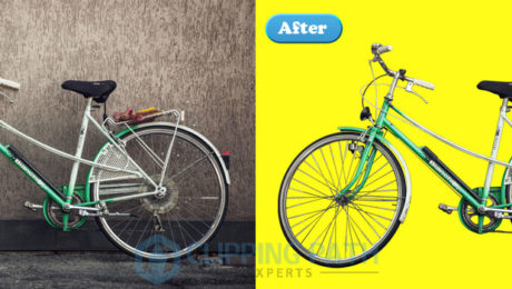 Photoshop complex bicycle clipping path