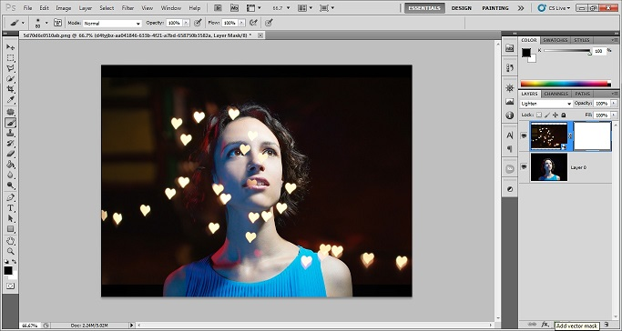 free bokeh overlays for photoshop elements