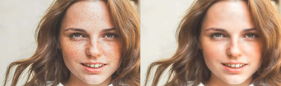 Face Retouching Sample
