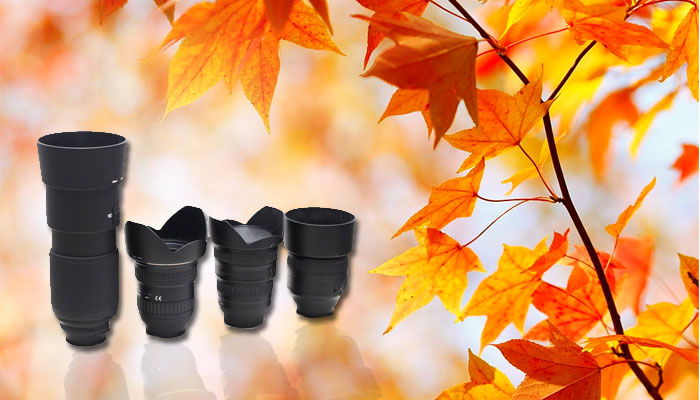 fall photography lens