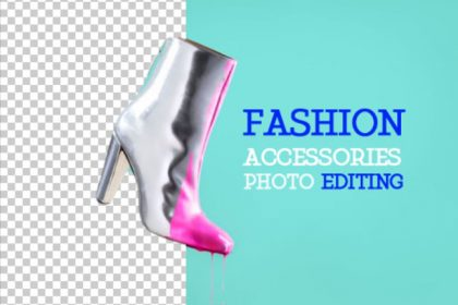 fashion accessories photo editing