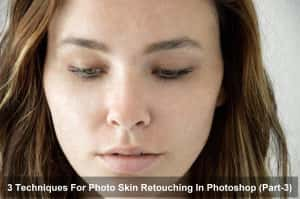 Techniques for skin retouching