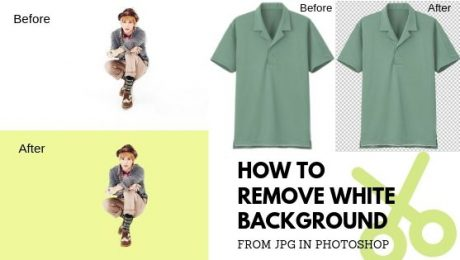 how to remove white background from jpg