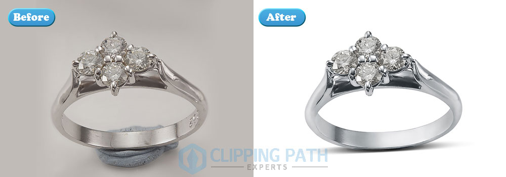 Jewelry Ring Retouch sample