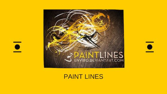 paint lines brushes Photoshop free