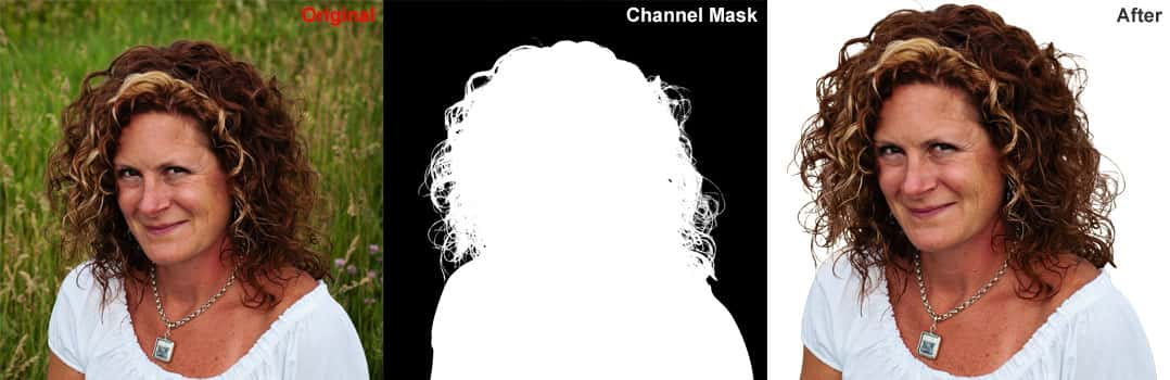 Photoshop Channel Masking