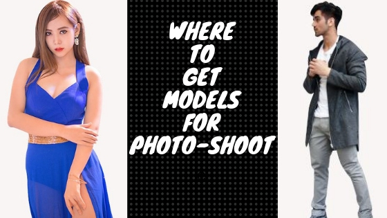 Where can I find models for a photo-shoot